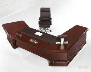Modern Design Luxury Office Table Executive Desk Wooden Furniture (HF-D2826F) pictures & photos