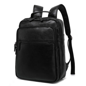 2017 New Fashion Shoulder Bag Lady Large Capacity Solid Bag Simple Leisure Compartment Backpack pictures & photos