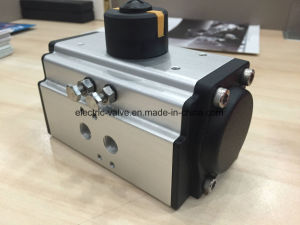 Rack & Pinion Type Pneumatic Actuator with Double Acting / Single Acting pictures & photos
