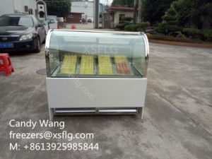 Ice Lolly Display Cabinet / Popsicles Showcase / Ice Stick Display Freezers (CE) pictures & photos