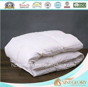 Luxury Down Duvet White Goose Feather and Down Quilt pictures & photos