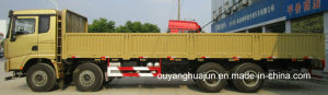 9.6 Meters Flatbed Semitrailer with Side Wall pictures & photos