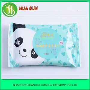 10 PCS Alcohol Free Baby Wet Wipe Hot Sale Baby Wipe pictures & photos