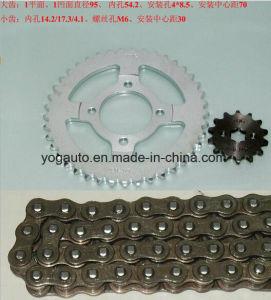 Motorcycle Chain Sprocket Set, Repuestos PARA Motocicletas, Kit De Transmision, for Honda C70 CD70 Jh70 pictures & photos