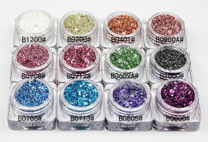 Mixed Glitter Powder for Nail Art and Nail Beaty pictures & photos