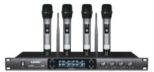 Ls-804 High Quality Professional Four Channel UHF Wireless Microphone pictures & photos