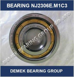 High Quality Cylindrical Roller Bearing Nj2306 E. M1c3 with Brass Cage pictures & photos