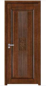 Panel Design Solid Wood Door Bedroom Door Made in China pictures & photos
