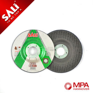 """Sali 4"""" T42/T27 Center Depressed Stone Grinding Disc for Polishing pictures & photos"""