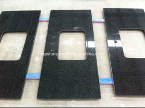 Nero Impala Black Granite Countertop pictures & photos