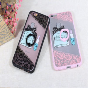 Wholesale Cute TPU+PC Mobile Phone Case for iPhone 6/6s/ 6 Plus with Holder pictures & photos