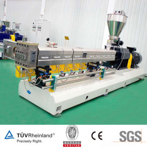Blended Alloy Masterbatch Plastic Screw Extruder Machine pictures & photos