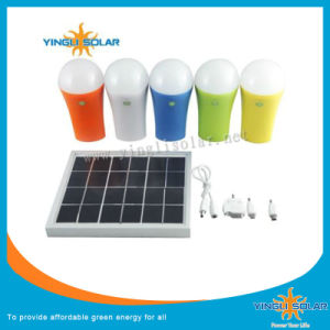 Solar Lamp with USB Can Charged for iPhone \Samsung pictures & photos