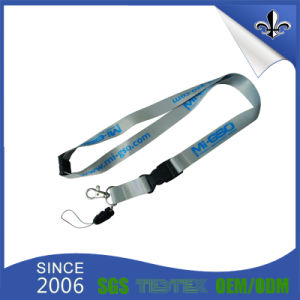 Custom Badge Holder Plain Polyester Lanyard for Wholesale pictures & photos