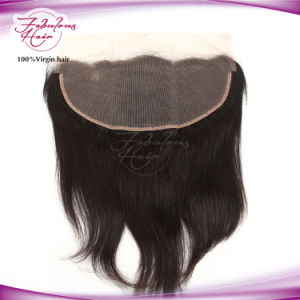 Straight Lace Frontal Brazilian Virgin Hair 13X6 Frontal pictures & photos