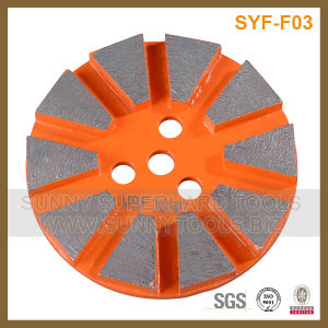 Abrasive Magic Tape Backed Diamond Cup Grinding Wheel pictures & photos