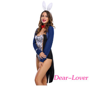 4PCS Bunny Bodysuit Party Costume Set pictures & photos