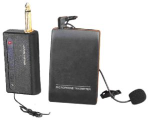 VHF Wireless Tie Clip Microphone WR-601