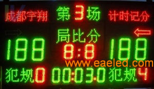 PH 3.75 Indoor Dual Color LED Display
