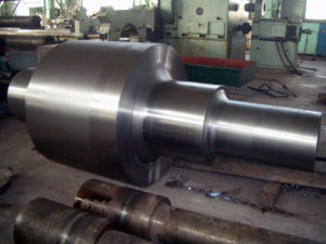 Forged Steel 4140 Roller Shaft with ISO, Forged Steel Round Bar, Forging pictures & photos