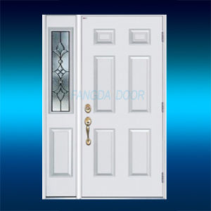 Prehung Entry Steel Door with Sidelite pictures & photos