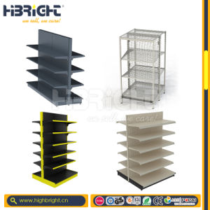 Double-Sided Supermarket Shelf and Racks pictures & photos