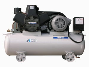 Oil Free Piston Air Compressor with Air Tant pictures & photos