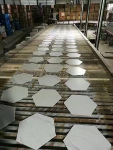 Building Material Cheap Rustic Ceramic Floor Tile Six Corners Brick pictures & photos