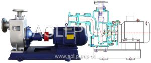 Zw Stainless Steel Sewage Self Primming Centrifugal Pump pictures & photos
