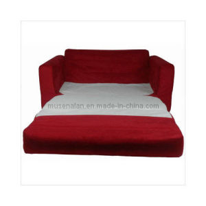 Children′s Sofa Sleeper in Red Micro Suede (MACS0007)