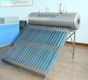 Non-Pressure Solar Water Heater (SS470-58/1800) pictures & photos