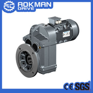 F Series Parallel Shaft Electric Motor Helical Gearbox pictures & photos