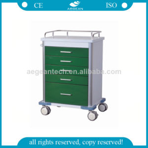 AG-GS001 New Arrival CE Approved Stainless Steel Hospital Trolley pictures & photos