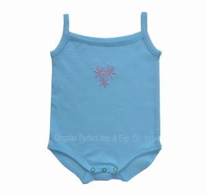 2014 Hot Sales New Baby Sleeveless Bodysuits (BRP7026)