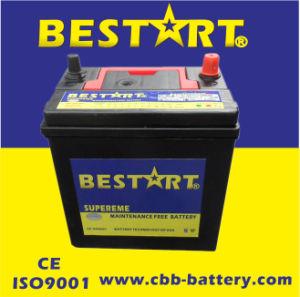 Good Starting Performance Auto JIS/DIN Series 12V36ah 38b20r Car Battery pictures & photos