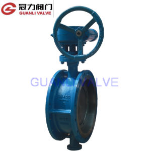 Flange Cast Iron Butterfly Valve with API ISO CE pictures & photos