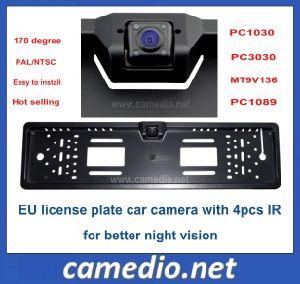 Night Vision European EU License Plate Frame Car Rear View Camera Cm-316b pictures & photos