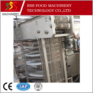 IQF Freezer Processing Packed Shrimp Sea Food Quick Freezing Machine Type Spiral