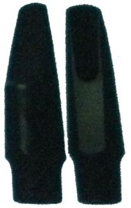 Black Ebonite Soprano Saxophone Mouthpiece