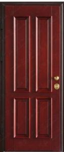 Fire Wooden Security Room Door pictures & photos