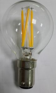 Standard Global G45/G50 LED Bulb 1W/1.5W/3.5W Warm White E12 Dimming Ce/UL Approval Bulb