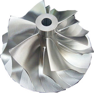 Billet Compressor Wheel (Machined Compressor Wheel) for Turbocharger pictures & photos