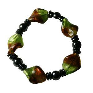 Magnetic Hematite Glass Beads Bracelet - 3