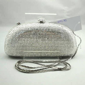 Crystal Evening Bag (WHC391-5SILVER)