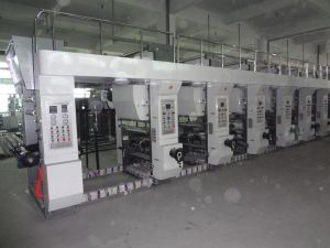 High Speed Auto Register Rotogravure Printing Machine (WABY-A)