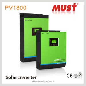 <Must> High Efficiency 5kVA DC 48V to AC 220V Pure Sine Wave Solar Inverter for Home Solar System pictures & photos