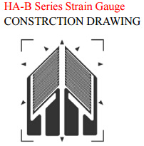 Dual Shear Gage Half Bridge Strain Gauge for High Accuracy Transducer pictures & photos