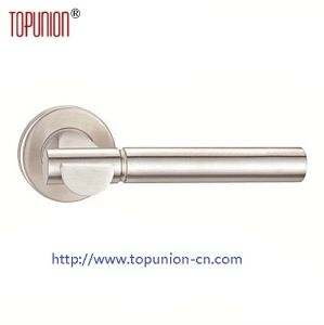 304 Stainless Steel Solid Door Lever Handle (CLH006) pictures & photos