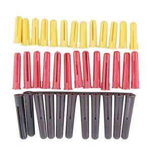 Nylon Fixing Rawl Plug in Red, Yellow and Brown pictures & photos
