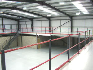 Steel Inustrial Building with Mezzanine pictures & photos